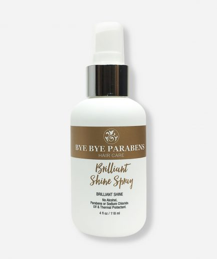 Brilliant-Shine-Spray-Bye-Bye-Parabens Natural Hair Product