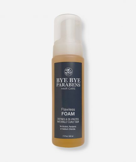 Flawless Foam Bye Bye Parabens Natural Hair Product