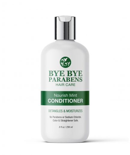 Nourish Mint Conditioner Leave-in Bye Bye Parabens Natural Hair Product