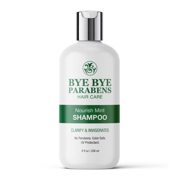 Nourish Mint Shampoo | Bye Bye Parabens Hair Care Products