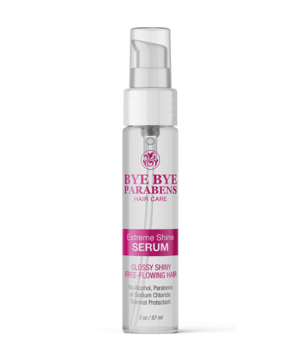 Extreme Shine Serum Bye Bye Parabens Natural Hair Product