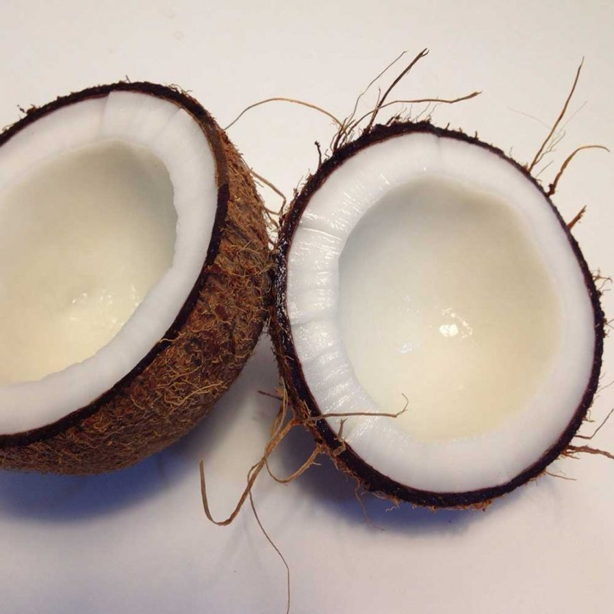 Coconut Oil - Conditions and softens hair while adding great shine