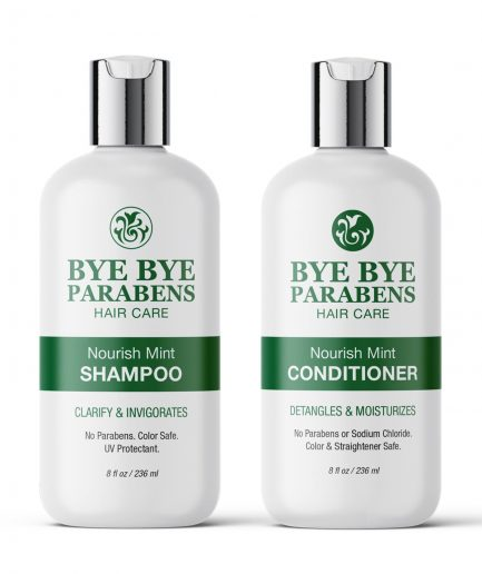 Mint Shampoo And Conditioner for Naturally Curly Hair