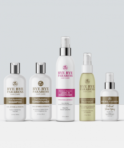 Dry Hair Repair Collection for Natural Curly Hair | Bye Bye Parabens