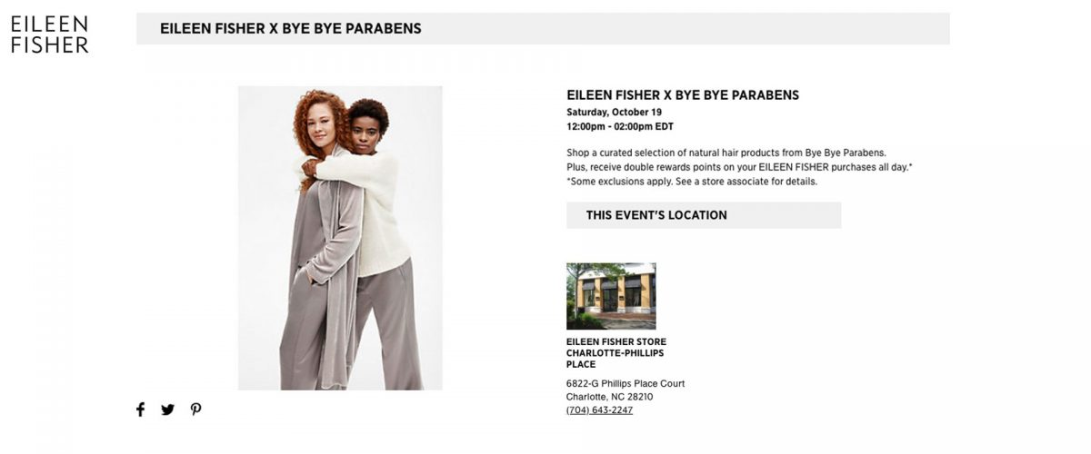 Eileen-Fisher-x-Bye-Bye-Parabens-Event-Charlotte-NC