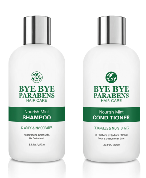 Nourish Mint Shampoo + Conditioner Set